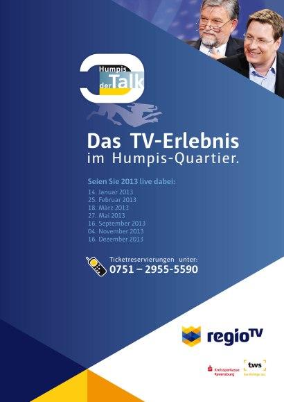 Eine Sendung in Regio TV